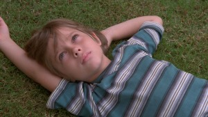 "Unknown Ellar Coltrane grows up before our eyes in Best Picture frontrunner ""Boyhood,"" directed by Richard Linklater."