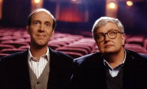 "Famed film critics Gene Siskel and Roger Ebert reviewed thousands of films on their show ""Siskel & Ebert."""